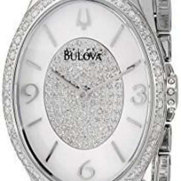 Bulova Women's 96R193 Analog Display Analog Quartz Silver Watch