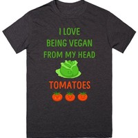I Love Being Vegan Shirt