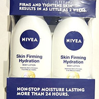 Nivea Q10 Skin Firming Hydration Body Lotion, 21 fl oz (Pack of 2)