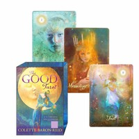 High Quality Tarot Cards with Colorful Box
