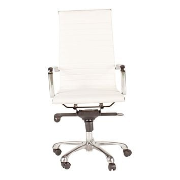 OMEGA OFFICE CHAIR HIGH BACK-SET OF TWO