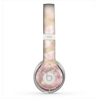 The Distant Pink Flowerland Skin for the Beats by Dre Solo 2 Headphones