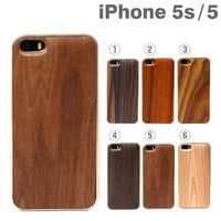 REAL WOODEN Grain Pattern Case for iPhone 5s/5