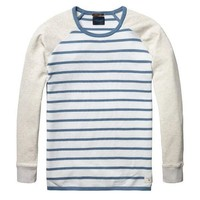 Striped Blue Sweater by Scotch & Soda
