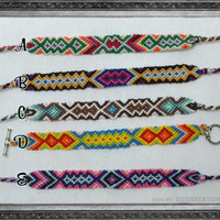 Bright String Friendship Bracelets