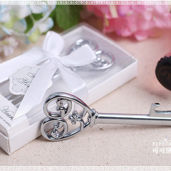 100 pcs Key to my Heart Bottle Opener Wedding favors and gifts