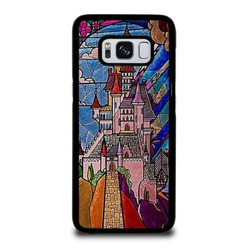 BEAUTY AND THE BEAST CASTLE DISNEY Samsung Galaxy S3 S4 S5 S6 S7 Edge S8 Plus, Note 3 4 5 8 Case Cover