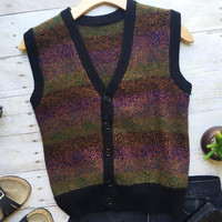 Night Sky Cashmere Vest