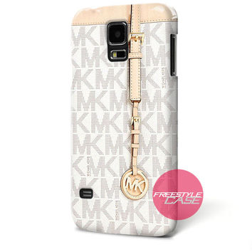 Michael Kors MK Bag Texture Print Samsung Galaxy Case Cover Series