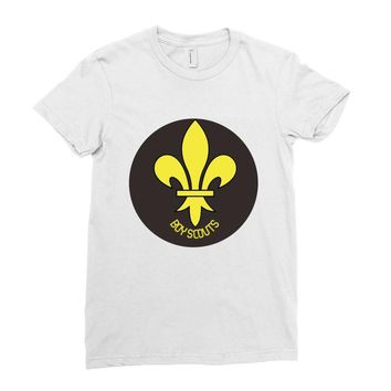 boy scout best Ladies Fitted T-Shirt