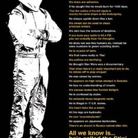 Top Gear, Some Say, The Stig, TV Poster Print