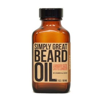 Beard Oil Whiskey Scented Beard Oil For Men Formulated by BeardOil