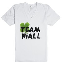 Team Niall-Unisex White T-Shirt