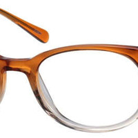 Orange Acetate Eyeglasses #6000 | Zenni Optical Eyeglasses
