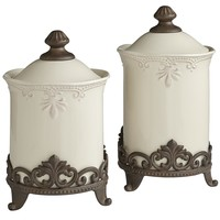 Abigail Canisters & Stands
