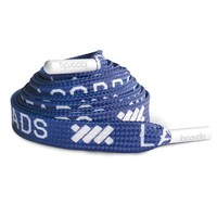 Navy Repetition Shoelace Belt