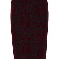 Aria Floched Midi Skirt