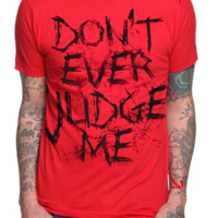 Slipknot Judge T-Shirt