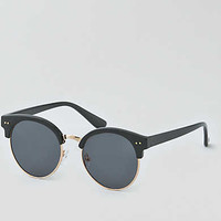 AEO Black Round Sunglasses, Black