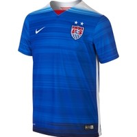 Nike Youth 2015 USA Soccer Stadium Away Blue Jersey | DICK'S Sporting Goods