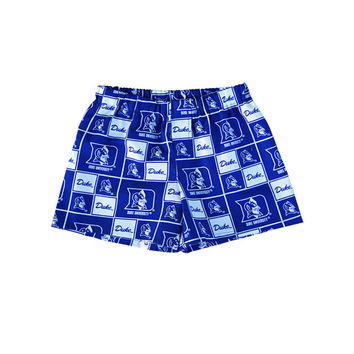 "Duke Blue Devils Boy/Men ""cotton"" Boxers Shorts College Football Team Kids Clothing 3t - 6"
