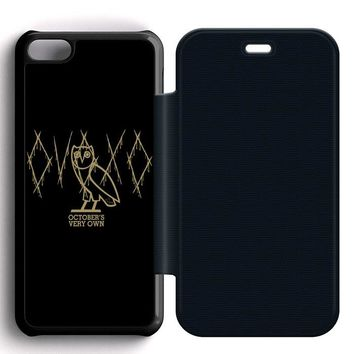 Ovoxo October Very Own Leather Wallet Flip Case iPhone 5C
