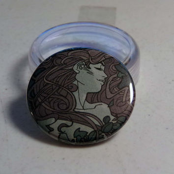 "Free Comic Book Day Sale// Comic Book 1.5"" Button// Poison Ivy"