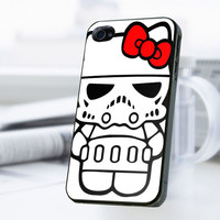 Hello Kitty Star Wars iPhone 4 Or 4S Case