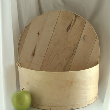 Vintage Cheese Boxes / Rustic Storage / Primitive Modern Farmhouse Kitchen Decor