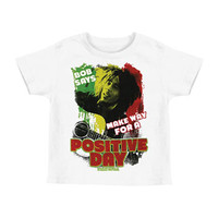 Bob Marley Boys' Make Way Childrens T-shirt White