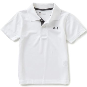 Under Armour Little Boys 2T-7 Match Play Short-Sleeve Polo Shirt | Dillards