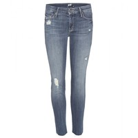 mother - the looker ankle fray jeans