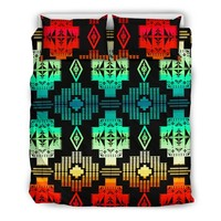 Seven Tribes 20 Shades Red Bedding Set