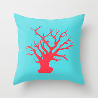 CORAL REEF 3 Throw Pillow by Monika Strigel