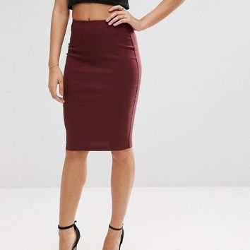 ASOS | ASOS High Waisted Pencil Skirt at ASOS