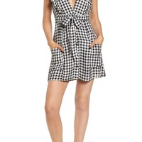 Lost + Wander Day Trip Gingham Minidress | Nordstrom