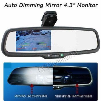 ac NOOW2 OEM Auto Dimming Rear View Mirror with 4.3 inch 800*480 Resolution TFT LCD Car Monitor Built in Special Bracket