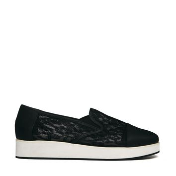 Monki Black Hella Shoes -