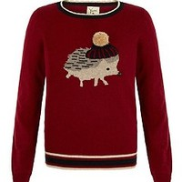 Hedgehog Print Jumper
