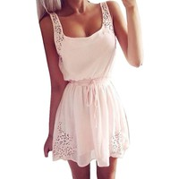 Suppion® Summer Women Casual Dresses Sleeveless Cocktail Short Mini Dress