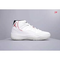 NIKE Air Jordan 11 Fashion New Women Men Sports Leisure Running Shoes 2#
