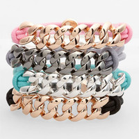 MARC BY MARC JACOBS 'Turnlock' Cord Bracelet | Nordstrom