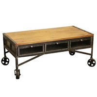 Hanson TV Stand, Natural