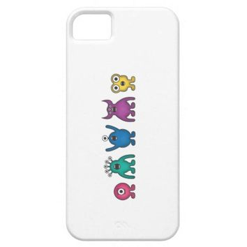 Rainbow Alien Monsters iPhone 5 Cases from Zazzle.com