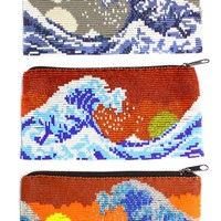 Long Wave Coin Purse - Assorted Only