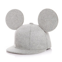 Cute !! New 2016 Big Ears Snapback Hat For Children Hat Baby Baseball Cap For Boy Cap Girl Hat Baby Drop Shipping