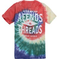 Afends AATT T-Shirt - Mens Tee - Multi Color