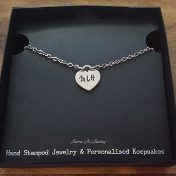Personalized Initial Anklet, Hand Stamped Jewelry, Name Anklet, Gift for Her, Mother's Day, Dainty Anklet, Initial Anklet, Body Jewelry
