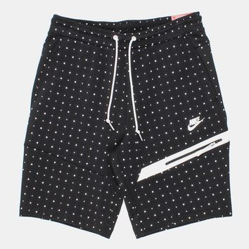 Buy Nike Tech Fleece Dots Shorts - Black/White from Urban Industry | Urban Industry