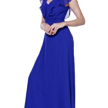 Nox Anabel - 7123 Butterfly Sleeved Dress